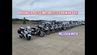 Police Motorcycle Advanced Motor Training On A BMW R1200RTP!