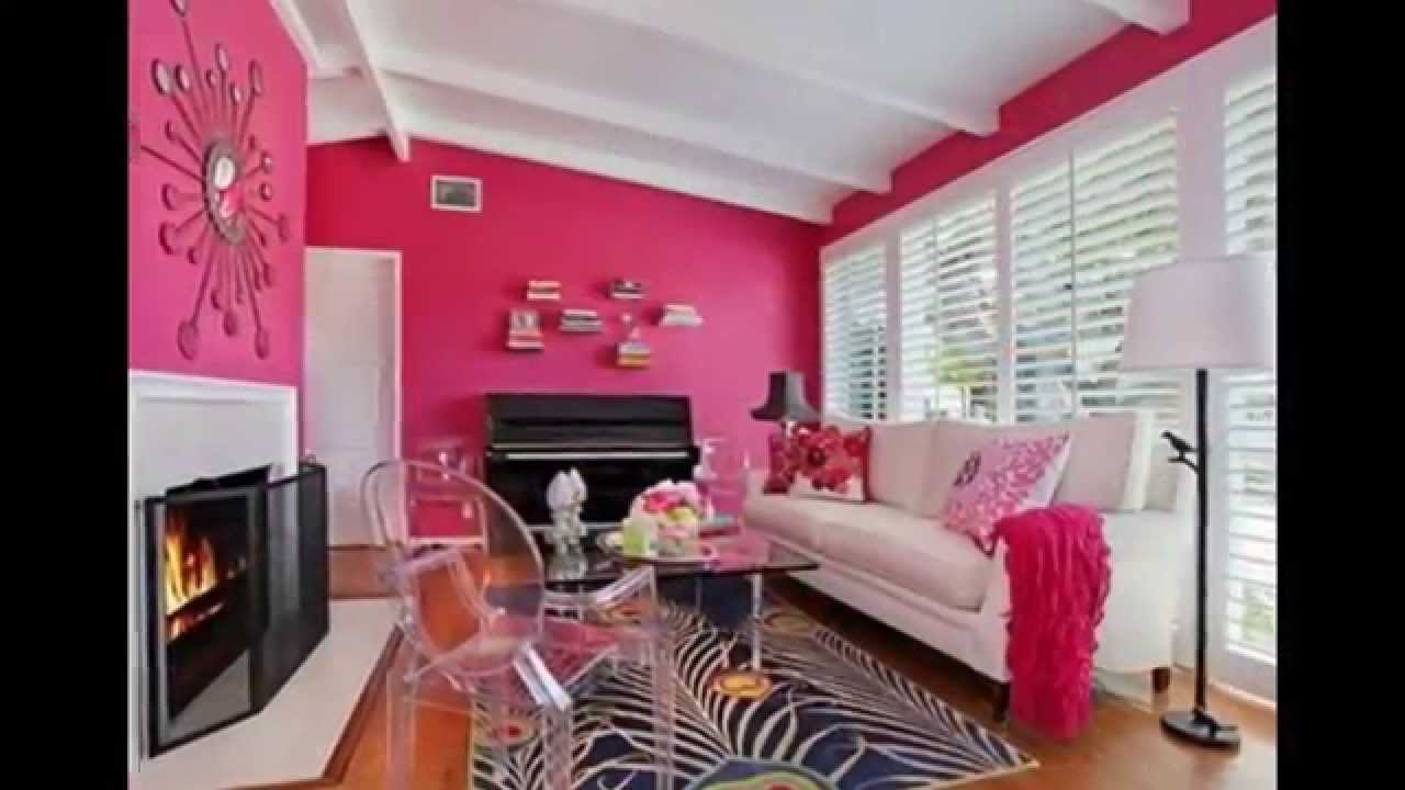 Pink Rooms - Interior Paint Colors for Higher Enjoyment of Housework ...