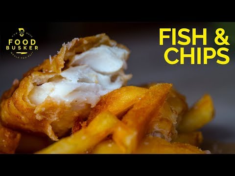 FISH AND CHIPS | Hands Down The Best Ever | John Quilter