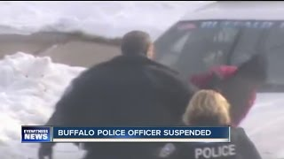 Buffalo Police Officer suspended after video surfaces