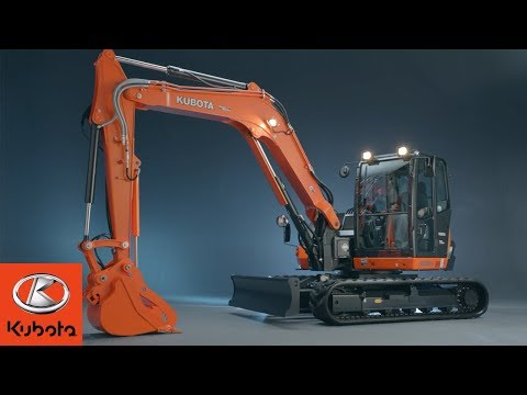 Kubota's KX080-4 Series Excavator: Built For Heavy-duty Jobs