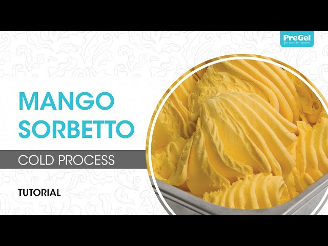 Cold Process Mango Sorbetto
