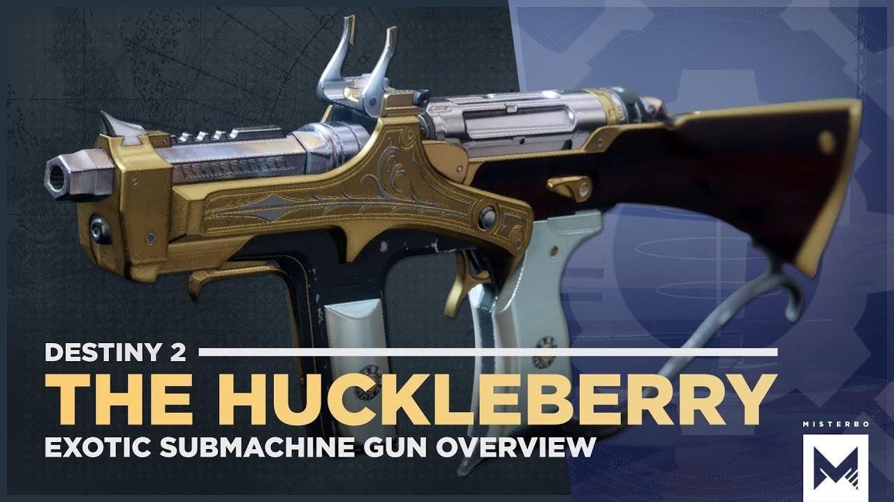 Huckleberry Destiny 2