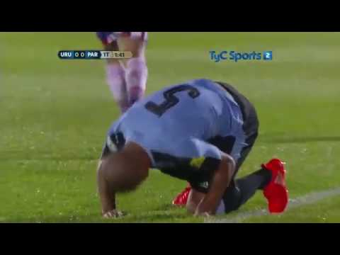 Uruguay 4 vs Paraguay 0 Eliminatorias Rusia 2018, Partido Completo.