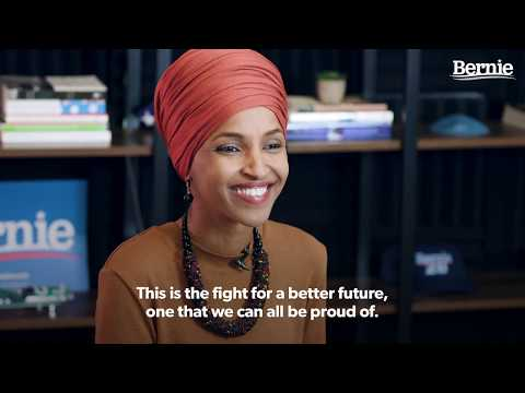 Rep. Ilhan Omar Endorses Bernie for President