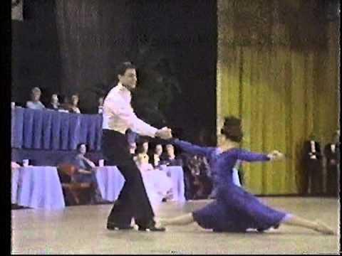 """Pierre Dulaine & Yvonne Marceau Dancing to """"Misty"""" - 1984"""