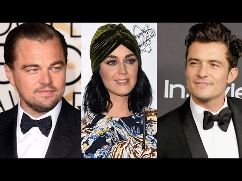 Newly Single Leonardo DiCaprio Parties With Orlando Bloom, Katy Perry And Kate Hudson!