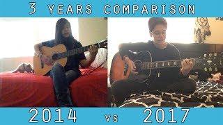 Video FTM 3 yrs guitar/singing comparison (Pre-T) || In Spite of All the Danger download MP3, 3GP, MP4, WEBM, AVI, FLV Desember 2017