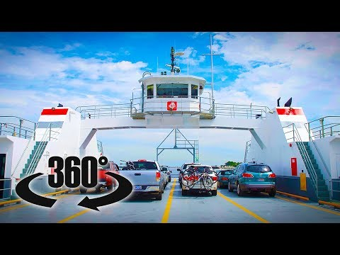 St Johns River Ferry 360 VIDEO - Jacksonville, Florida