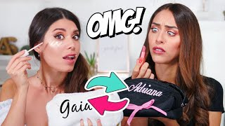 IO E GAIA CI SCAMBIAMO I BEAUTY?! | Adriana Spink ft. @Gaia Visco Gilardi