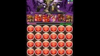 パズドラ「闇の歴龍 地獄級」のノーコン攻略動画です。 ↓の方法で魔法石...