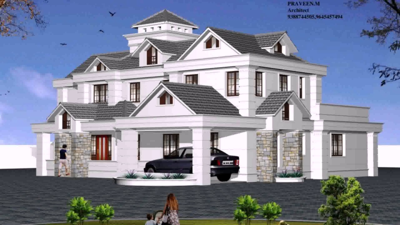 Types of house architecture styles youtube for Different house styles pictures
