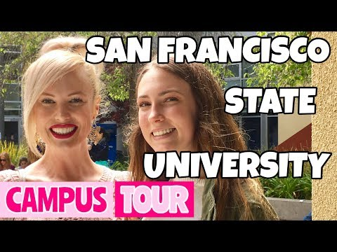 SAN FRANCISCO STATE UNIVERSITY CAMPUS TOUR 2017 // VLOG