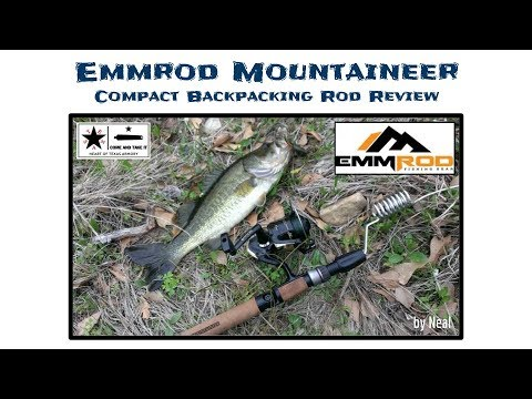 Emmrod Mountaineer Review - The Best Compact Fishing Rod Ever!