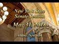 New York State Senate Session - 05/31/18