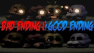 The story behind the endings in Five Nights at Freddy