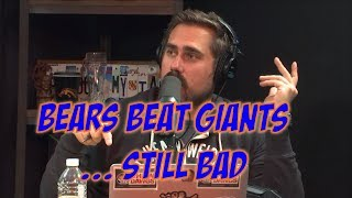 Bears Win, But Are Still Bad & Giants Are So Awful They Made Mitch Look Average