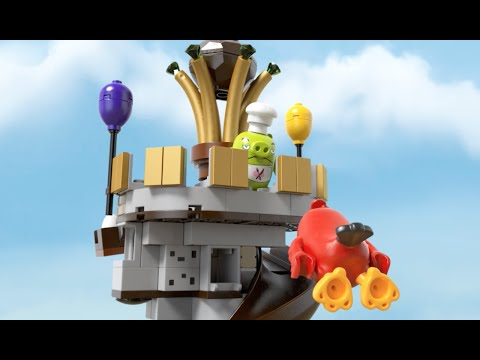 LEGO® Angry Birds the Movie - 75826 King Pig's Castle Product Animation