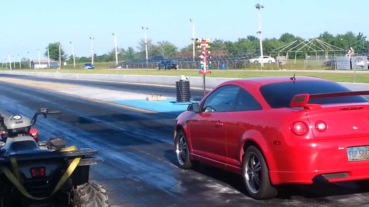 06 cobalt ss supercharged 1/4 mile - YouTube
