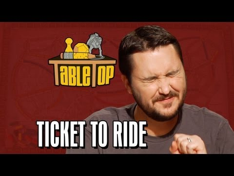 Ticket to Ride: Wil Wheaton, Colin Ferguson, Anne Wheaton, a