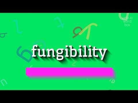 """How to say """"fungibility""""! (High Quality Voices)"""