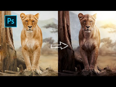 Photoshop Tutorial: How to Create Lighting thumbnail