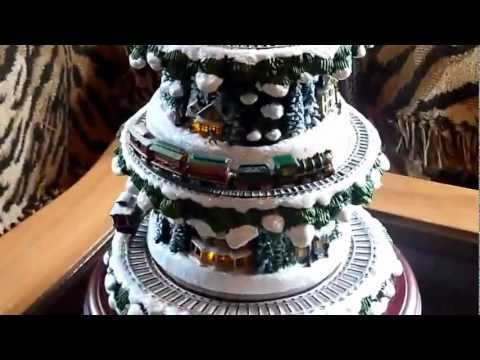 Thomas Kinkade Wonderland Express Christmas Tree Train