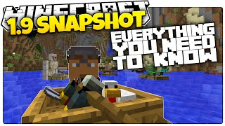 New Boats & Wings! | EVERYTHING You Need To Know About The New Minecraft 1.9 Snapshot