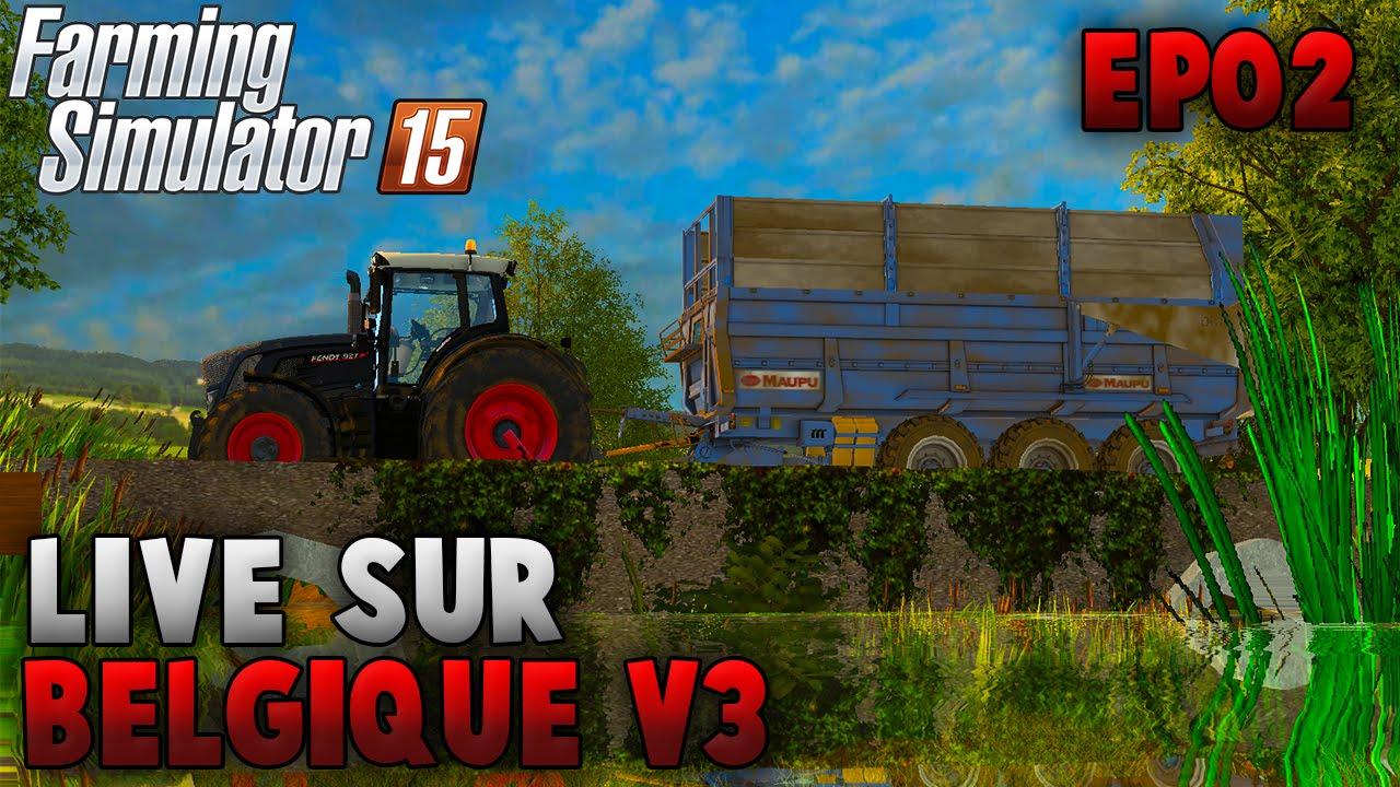 farming simulator 15 belgique profonde v3 0 pisode 2 youtube. Black Bedroom Furniture Sets. Home Design Ideas