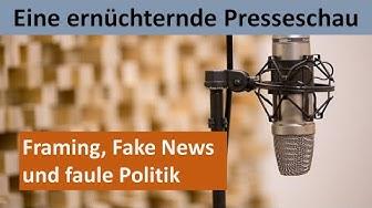 PRESSESCHAU - Irritierendes aus dem Nachrichtenstrom