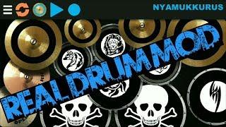 Real Drum MOD For Android BY NYAMUKKURUS (Keren)