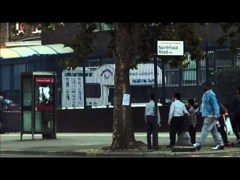 Stamford Hill Haredi Jews react to anti-segregation posters.