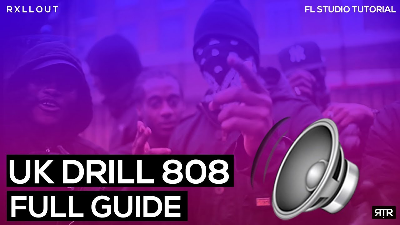 How to make INSANE sliding 808 patterns | UK Drill/Trap Tutorial | Full  Guide