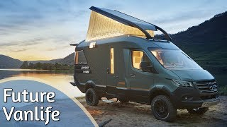 The Future of the Motorhome - Vanlife VisionVenture by Hymer | Presentation & room tour