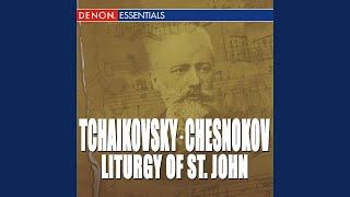 Liturgy of St. John Chrysostom, Op. 41: II. Short Litany - Second Anitiphon - Short Litany