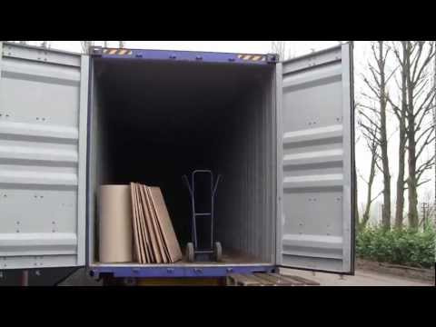 Antiques Buying Trip: Shipping Containers