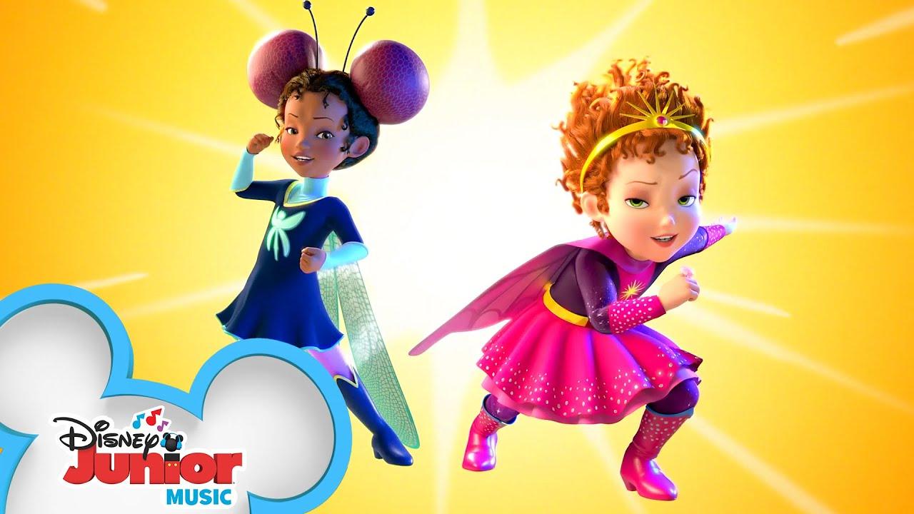 Dazzle Girl and Dragonfly | Music Video | Fancy Nancy | Disney Junior