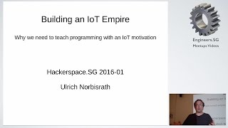 Building an IoT Empire