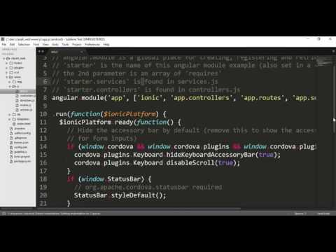 Ionic Web SQL
