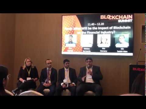 Ido Sadeh Man – Blockchain Summit Hong Kong