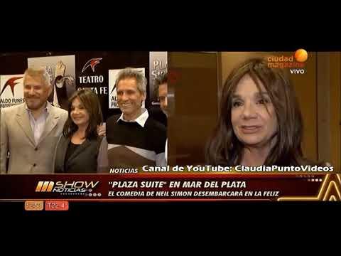 """Teatro: Presentación de """"Plaza Suite"""" Picchio, Taibo y Locane"""