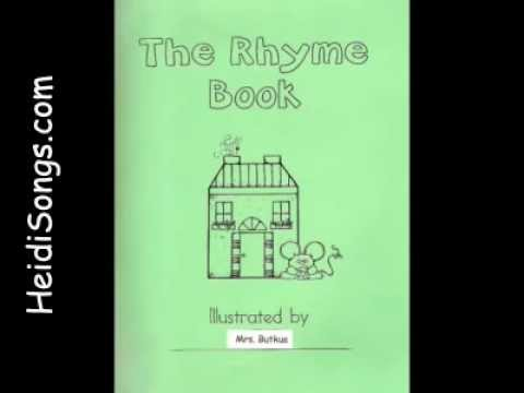 The Rhyme Song Book  Classroom Book Project