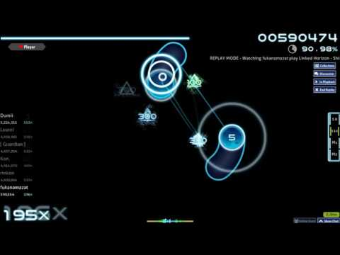 Linked Horizon - Shinzou wo Sasage yo! / [osu! gameplay]