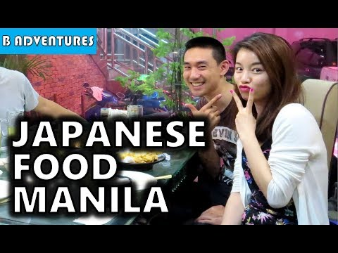 Manila: Japanese Food & Chancing, Philippines S3, Travel Vlog #2