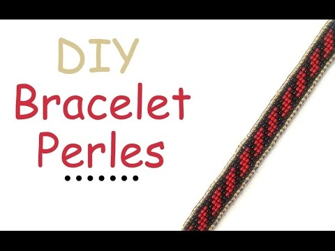 Diy Modele Bracelet Perles De Rocaille Youtube