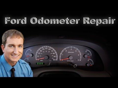 How To Repair A Ford Odometer Digital Display