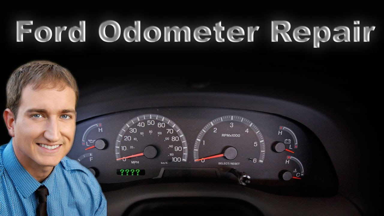 hight resolution of how to repair a ford odometer digital display