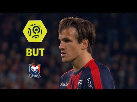 But Ivan SANTINI (54' pen) / SM Caen - Amiens SC (1-0)  / 2017-18