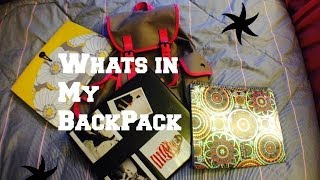 What's In My Backpack ❤️ Thumbnail