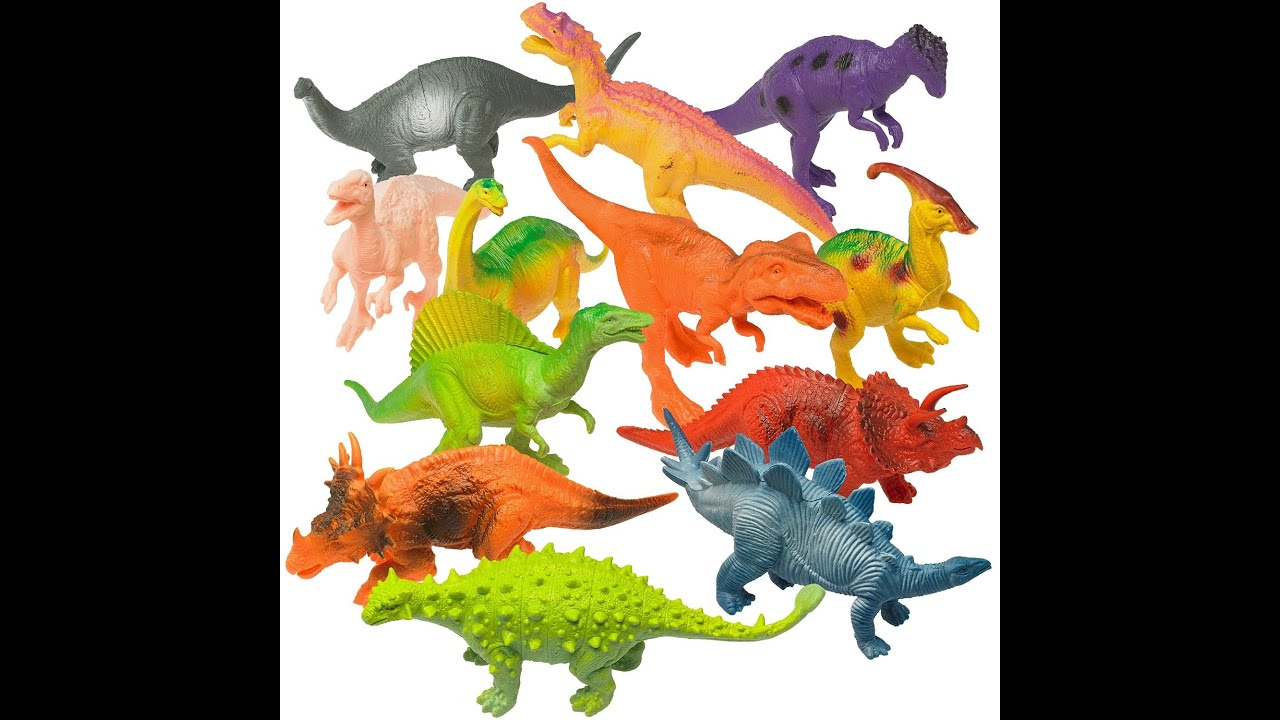 Dinosaurs Toys R Us : Prextex realistic looking quot dinosaurs large plastic